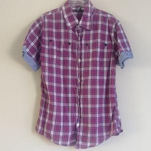 3/$27 Zara boys button shirt size 5-6